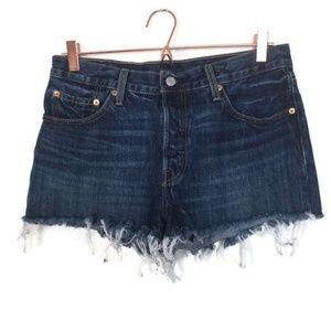 Like New Levi 501 Cutoff Shorts Size W29